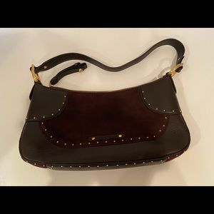 Cole Haan purse chocolate brown
